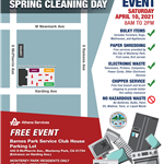 Athens Monterey Park Spring Cleaning Day Flyer 4-10-21